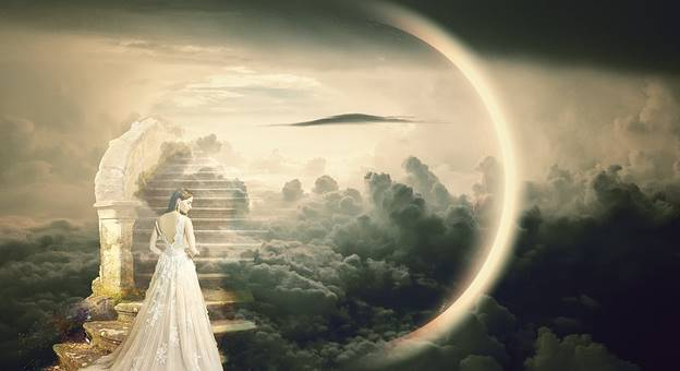 filsafat buddha dunia surga