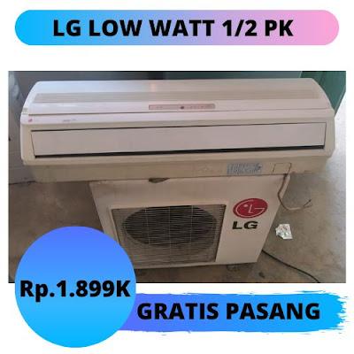 Jual AC LG 1/2 PK Gratis Pemasangan