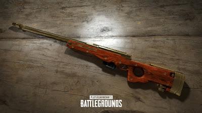Gambar Panduan Dasar PUBG: Sniper Rifle Weapon