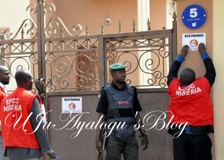 Sacked Maina On The Run Again As EFCC Invades $2m Mansion