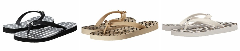 COACH Amel Flip Flops for only $18 (reg $40) + free shipping