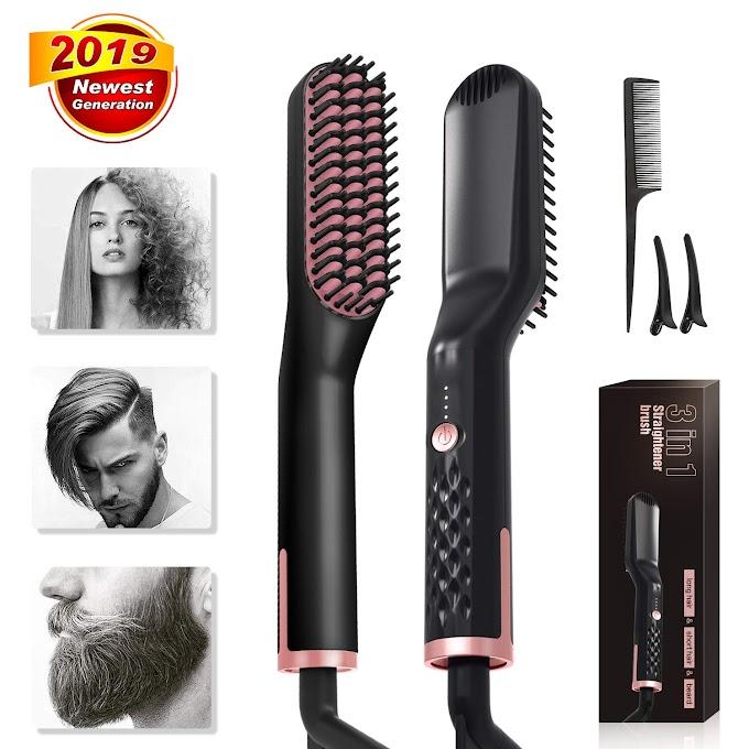 30% off Hair Straightening Brush Comb