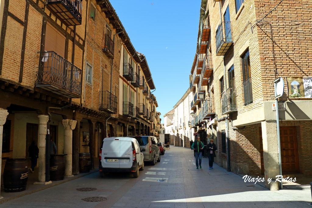 Calle Mayor de El Burgo de Osma