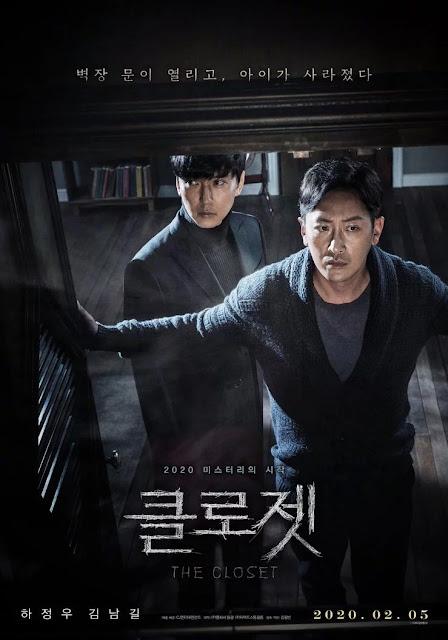 Review Film Closet (2020) - Poster Film the Closet (2020) Film ini ditulis sekaligus disutradarai oleh Kim Kwang-bin.