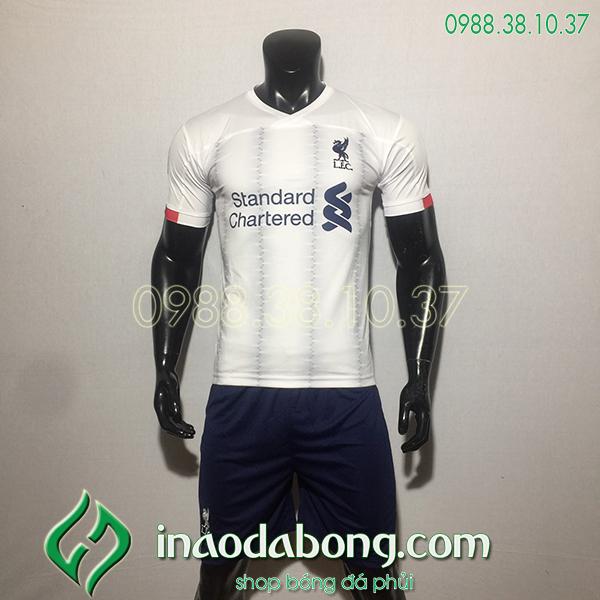 Áo bóng đá câu lạc bộ Liverpool màu trắng 2020