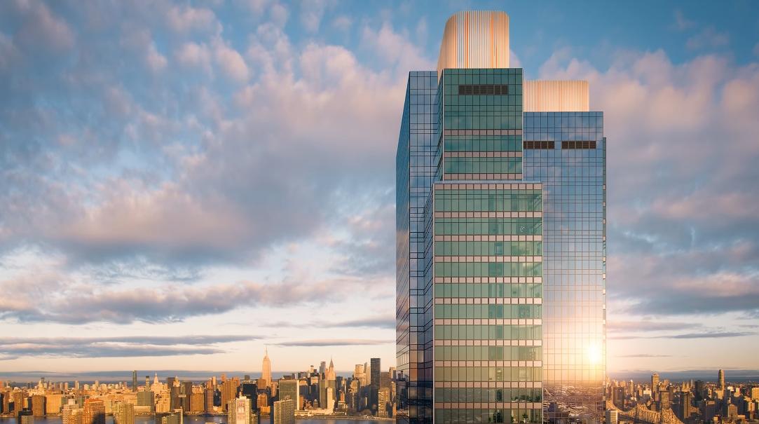 Tour Skyline Tower New York vs. 12 Interior Design Photos