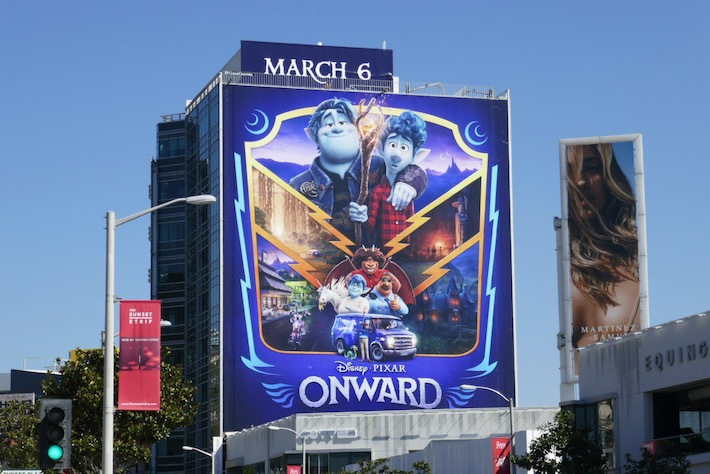 Giant Onward movie billboard