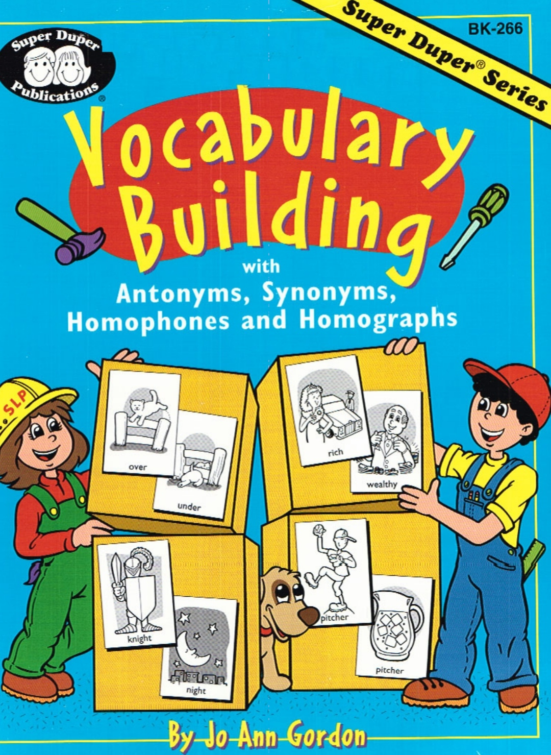Vocabulary Building With Antonyms Synonyms Homophones