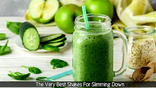 Green shake for slimming down