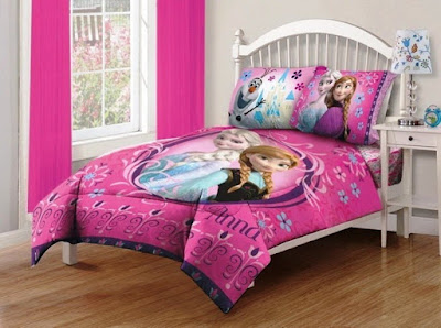 Kamar Tidur Anak Perempuan Nuansa Frozen
