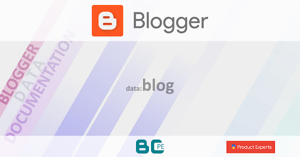 Blogger - Ressources du dictionnaire de données data:blog