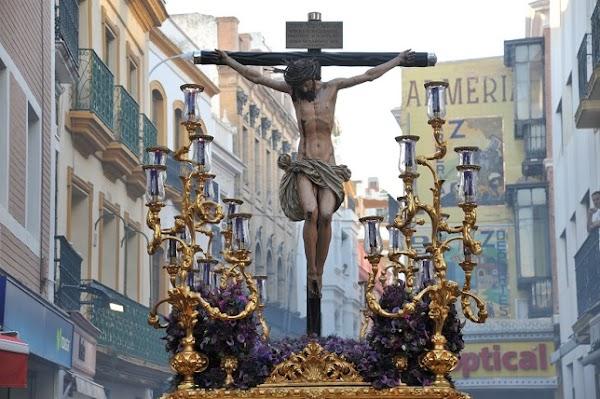 Horario e Itinerario Vía Crucis del Cristo de los Desamparados de Santo Ángel. Sevilla 05 de Abril del 2019