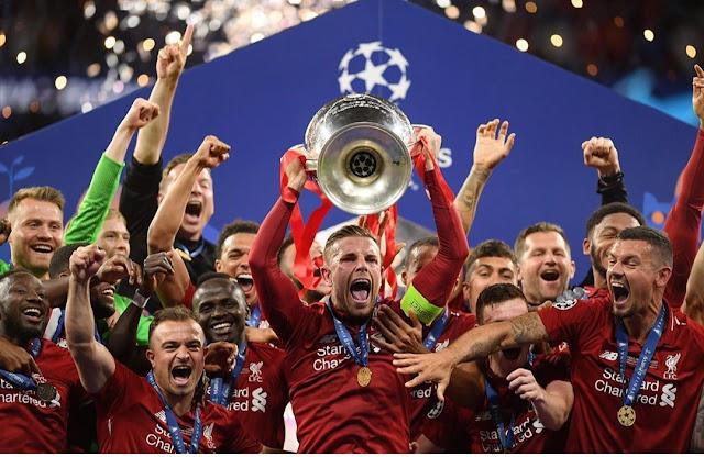 Liverpool Juara liga Champions Eropa 2019