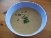 vegan essen in Wien - Vegane Kartoffelcreme - Japan (veganes Rezept für 2 Personen)- kalte suppe
