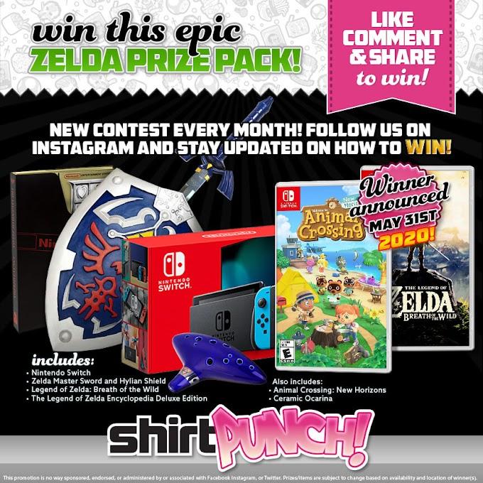 Sorteio do Nintendo Switch e muito mais