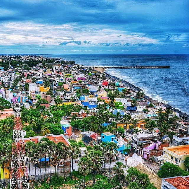 tourist destination  India Pondicherry