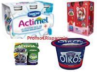 Logo Buoni sconto mensili Danone, Activia, Oikos e altri con ViviDanone
