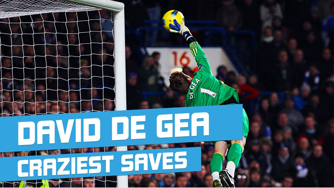 David De Gea all Saves