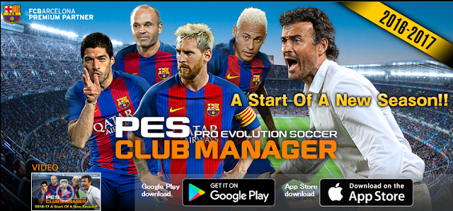 Download PES Club Manager v1.4.1 Apk + Data Update Full Version Terbaru