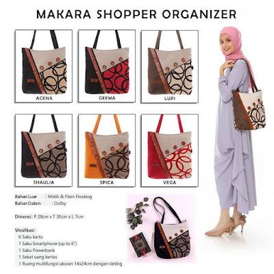 Makara Shoper Organizer Tas Wanita