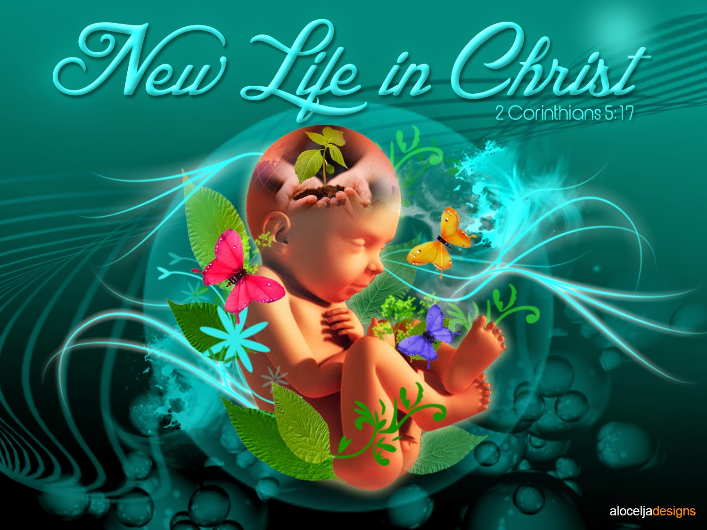 Aloceljadesigns New Life In Christ By Aloceljadesigns