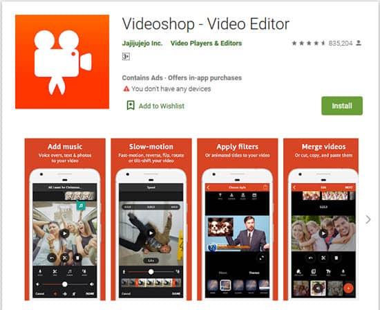 برنامج خفيف لقص وتقطيع الفيديو على الموبايل