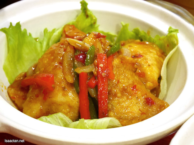 Stir Fried Szechuan Style Fish Fillet