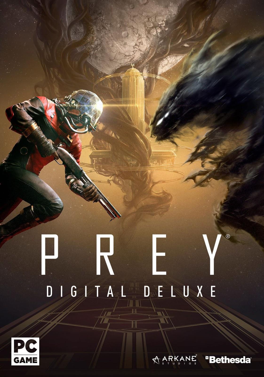 Descargar Prey Digital Deluxe Edition Cover Caratula