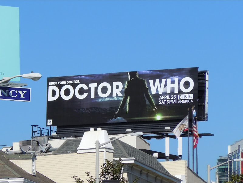 Dr Who Trust Your Doctor billboard