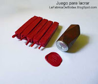 Venta de kit para sellos cera lacre con sello de metal personalizado y barras de cera lacre rojo fabricantes en guatemala