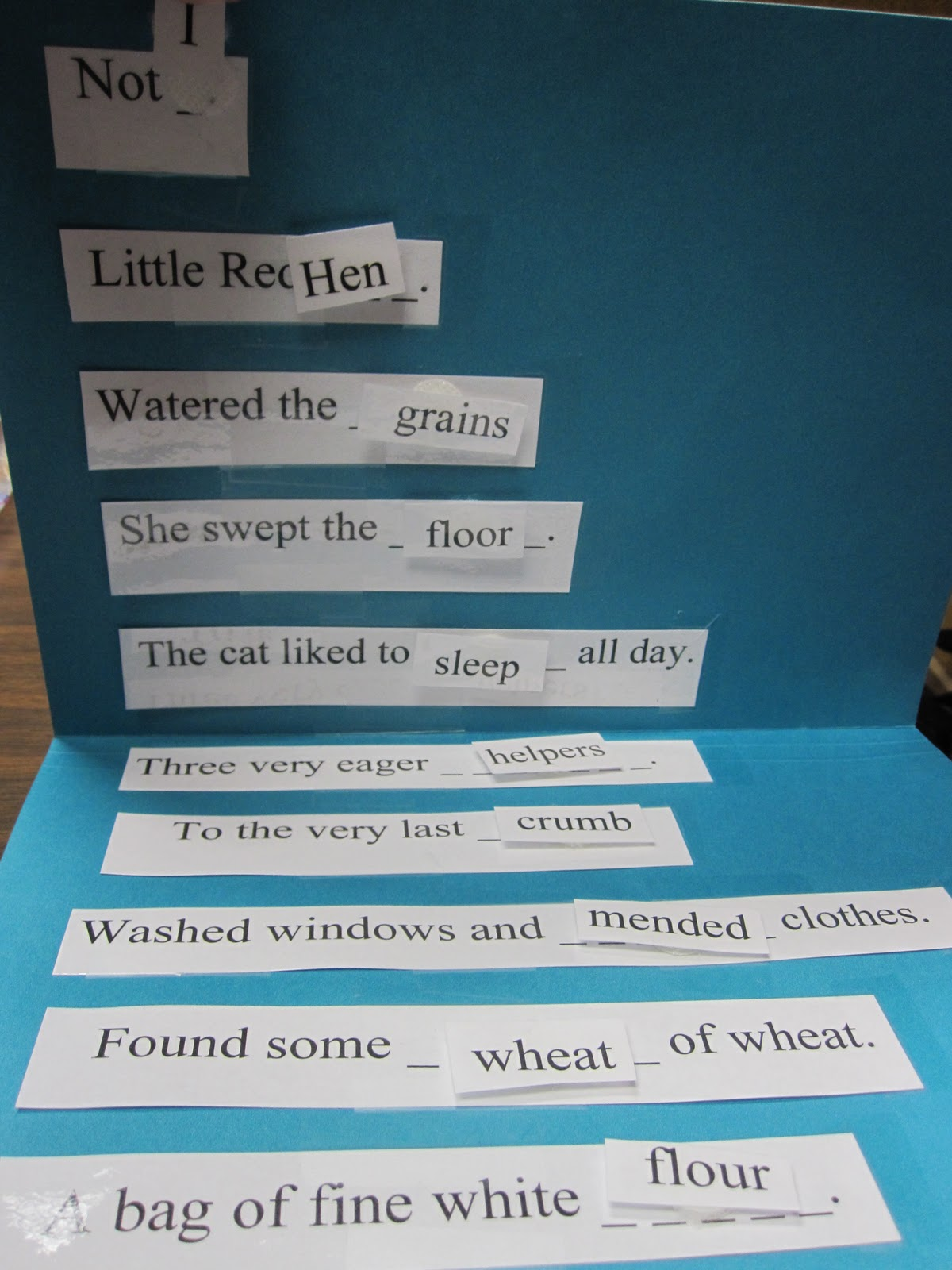 Our Clinic Creations Wordysis And Vocabulary