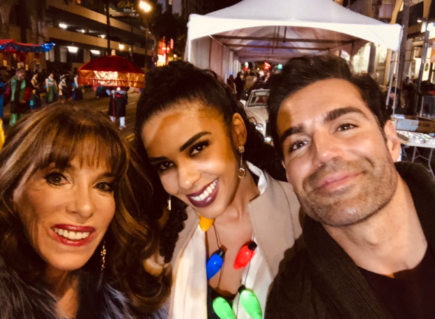 Interview: 'The Young and the Restless' Jordi Vilasuso, Alice Hunter and Kate Linder at 2018 Hollywood Christmas Parade