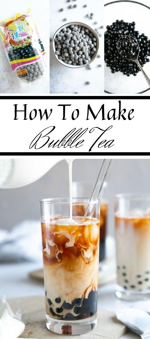 HOW TO MAKE BUBBLE TEA  #bubble #drink #fresh #milktea #party