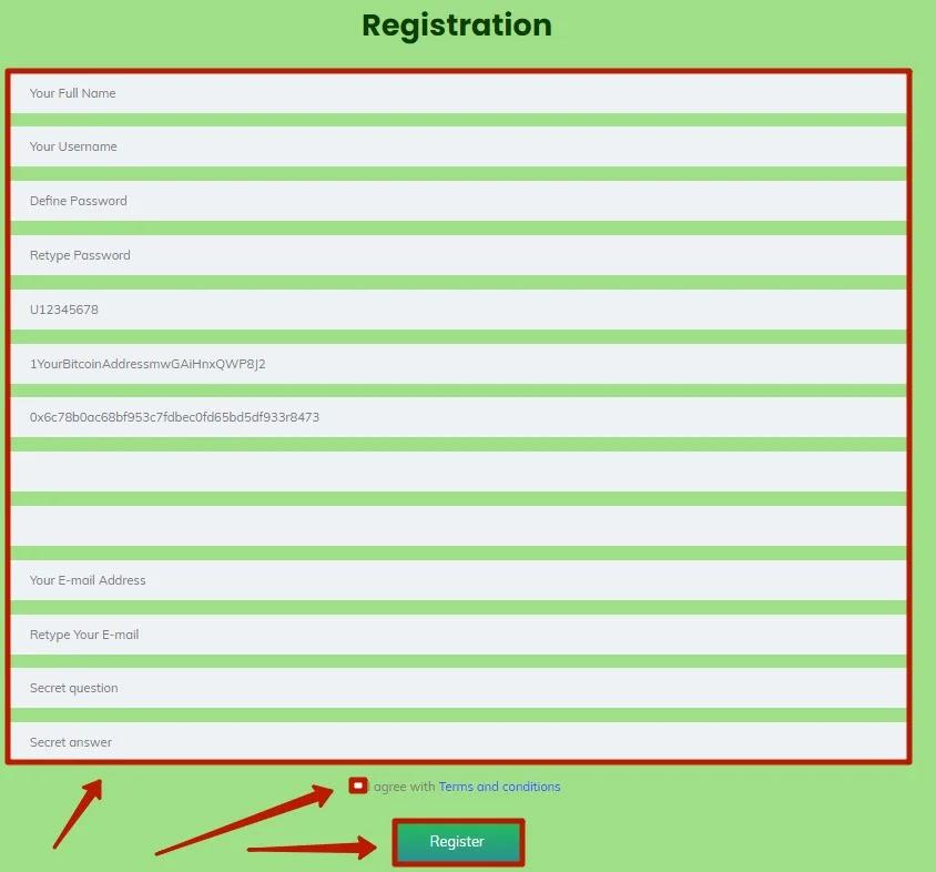 Регистрация в Infinite Passive Income 2