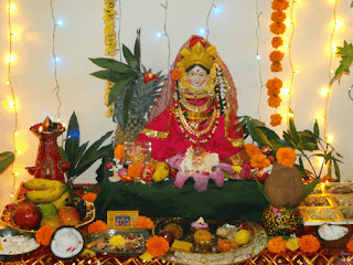 varalakshmi procedure with idol