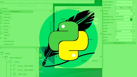 Python Tkinter Masterclass - Learn Python GUI Programming