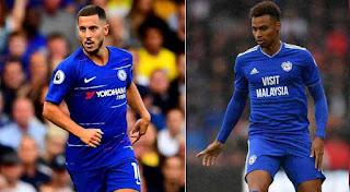 Chelsea vs Cardiff LIVE score: Follow the Premier League