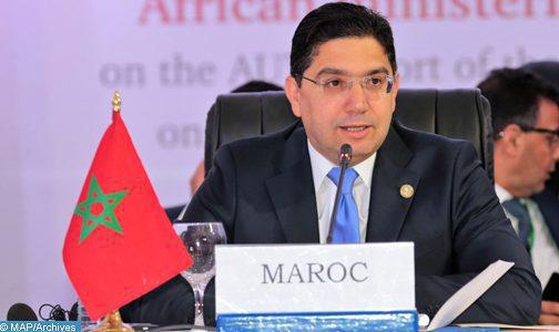 ناصر بوريطة… جلالة الملك حريص على دعم حوار ليبي ليبي دون فرض حلول