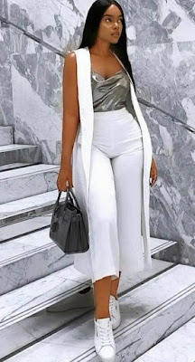 Black and white fabric styles