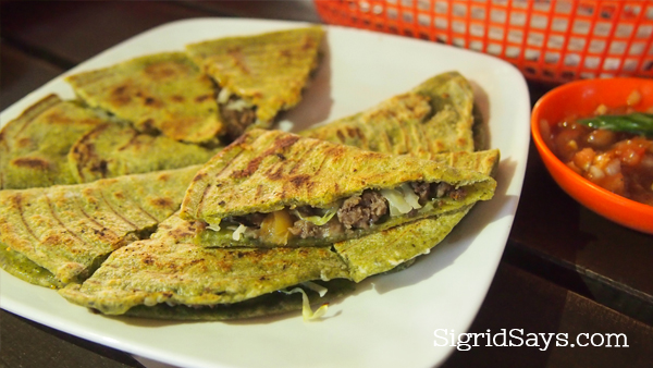 Spice Kitchen healthy quesadilla