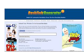 Backlinkgenerator
