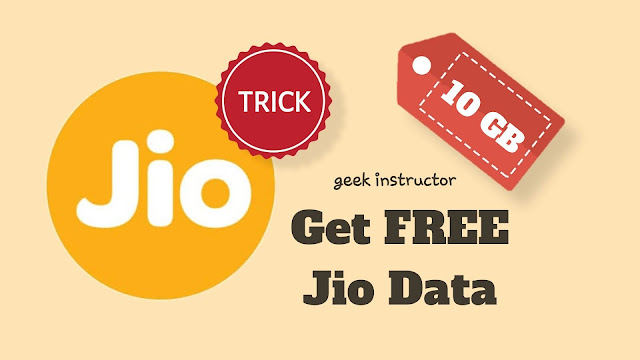 How to Get 10GB Free Jio Data Voucher (100% Working - Proof)