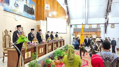 Puncak Peringatan HJW ke 622, Bupati Ajak Jadikan Inspirasi dan Motivasi Setiap Detik Perjuangan Tanah Wajo