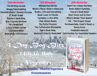Book tour: Christmas at the Candied Apple Café - Katherine Garbera (Guestpost + GIVEAWAY)