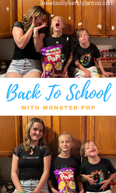 Back To School with Monster Pop