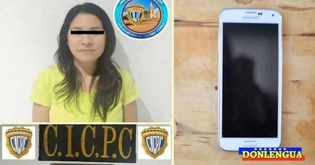 Coordinadora de un colegio fue detenida por robarle el celular a una maestra