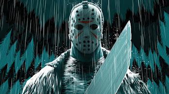 Jason, Voorhees, Machete, Mask, Digital Art, 4K, #6.2651