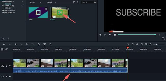 Cara Menggabungkan Video di Filmora