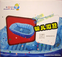 Summer Baby Bath Tray