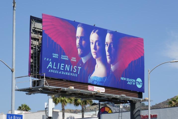 Alienist Angel of Darkness billboard
